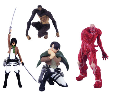 Attack On Titan Capsule Toys