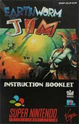 Earthworm Jim (Instruction Manual)