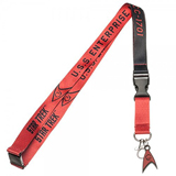 Star Trek Red Member Lanyard with Charm