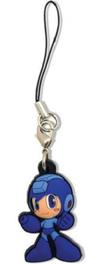Mega Man: Powered Up Mega an PVC Cell Phone Charm
