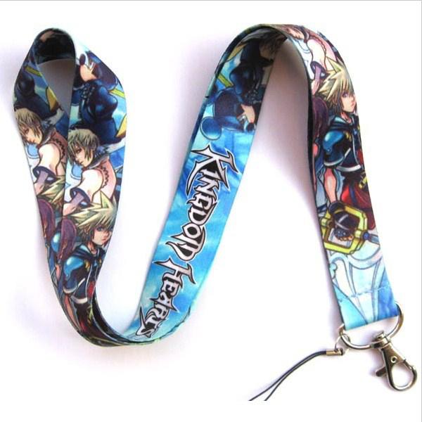 Kingdom Hearts 2 Multi Character Lanyard