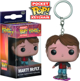 Pocket Pop Back To The Future Marty Vinyl Figure Keychain