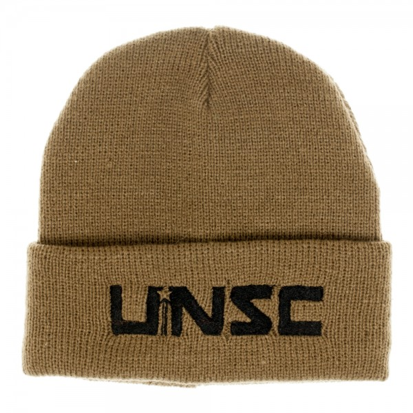 Halo UNSC Olive Single Layer Cuff Beanie