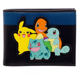 Pokemon Group Rubber Patch Bi-Fold Wallet