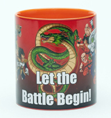 Dragon Ball Z Let The Battle Begin 20oz Mug