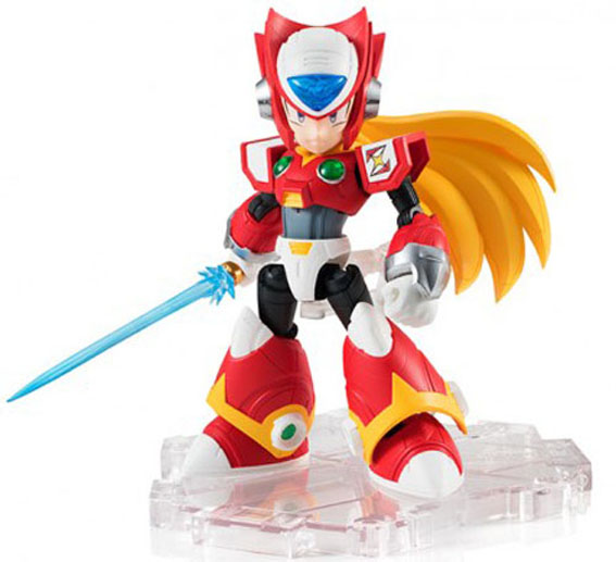 Mega Man X NXEdge Zero 4 Fig Sword