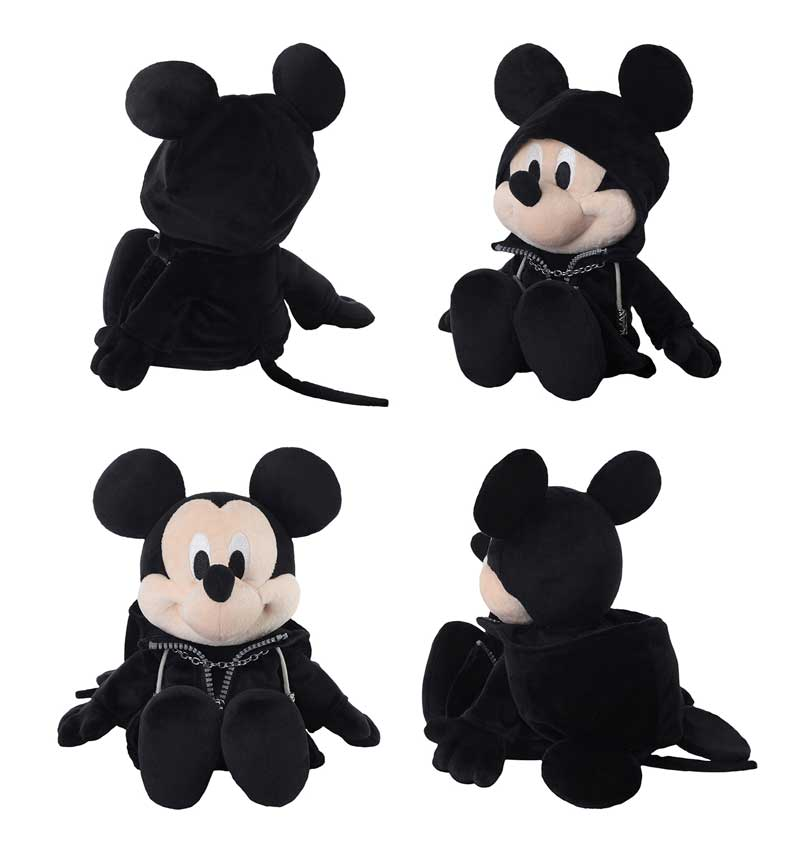 Kingdom Hearts King Mickey Plush other angles