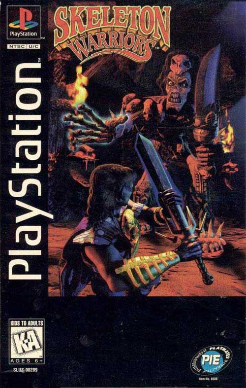 Skeleton Warriors Long Box Version