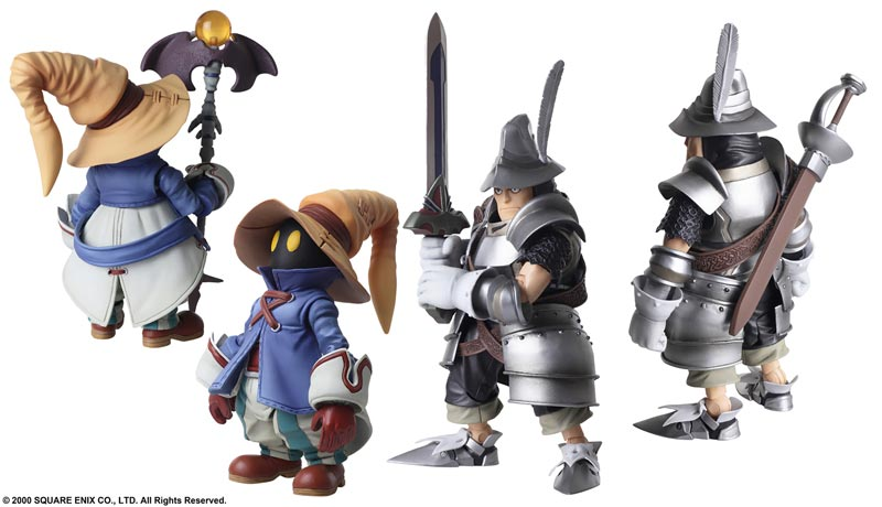 Final Fantasy IX Bring Arts Vivi Steiner AF Set additional poses