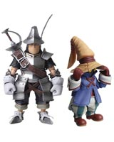 Final Fantasy IX Bring Arts Vivi & Steiner Action Figure Set
