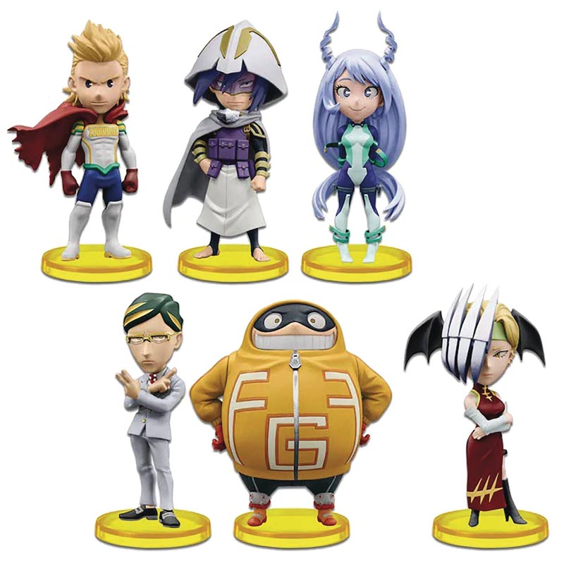 My Hero Academia World Collectible Mini Figures V5 all collectibles