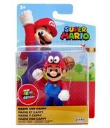 World of Nintendo Mario & Cappy 4 Inch Action Figure