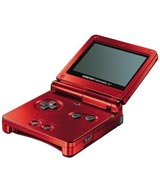 Nintendo Game Boy Advance SP Flame Red Refurbished System - Grade A