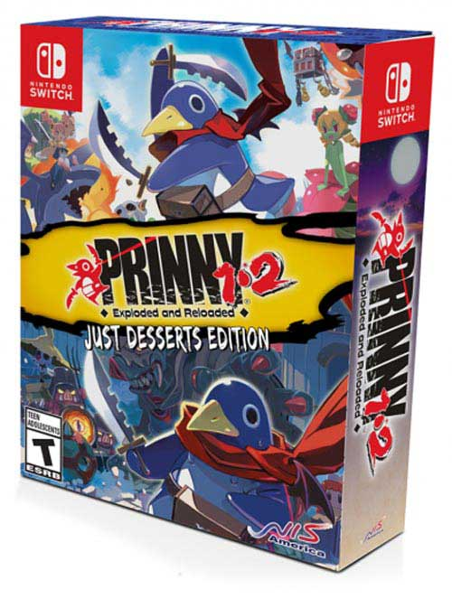 Prinny 1 & 2: Exploded and Reloaded Just Desserts Edition