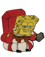SpongeBob SquarePants 'Ight I'm Gonna Head Out Pin