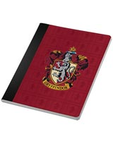 Harry Potter Gryffindor Notebook & Page Clip Set