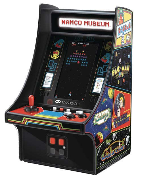 Bandai Namco Museum 10 Inch Mini Arcade Player
