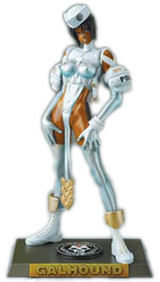 Masamune Shirow Intron Depot Galhound Version 2 PVC Statue