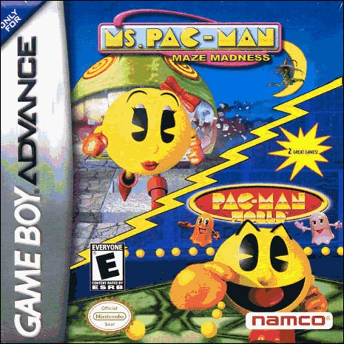 Ms Pac-Man Maze Madness and Pac-Man World