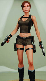 Tomb Raider Lara Croft Underworld 7 inch Action Figure