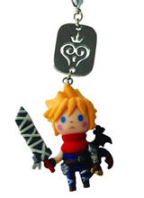 Kingdom Hearts Cloud Mascot Strap