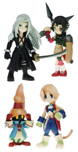 Final Fantasy: Trading Arts Volume 4 Mini Figures Set