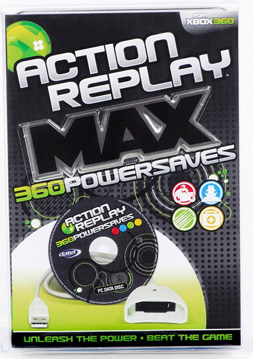 Xbox 360 Action Replay Max