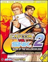 Capcom vs. SNK 2: Mark of the Millennium 2001 Official Fighter's Guide