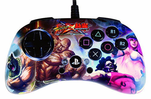 PlayStation 3 Street Fighter X Tekken Fight Pad SD Poison & Hugo vs King & Marduk