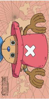 One Piece Tony Tony Chopper Bath Towel