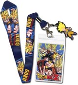 Dragon Ball Z Super Saiyan Goku Lanyard