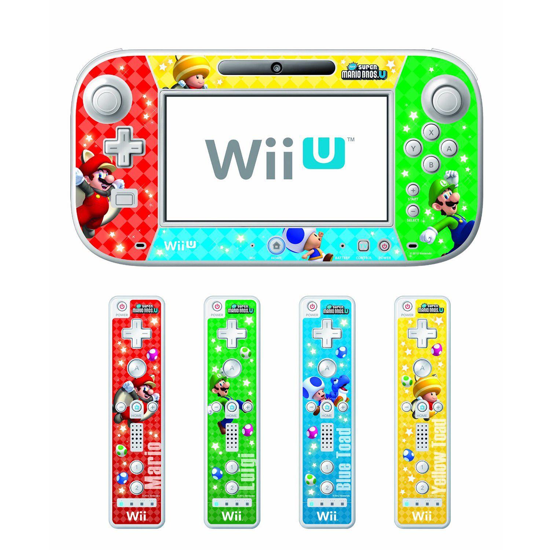 Wii U New Super Mario Bros U Skin and Screen Filter