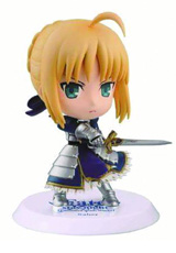 Fate/Stay Night: Chibi-Kyun-Chara Saber Figure