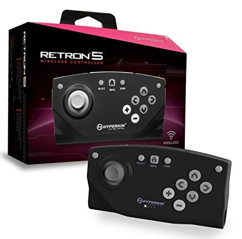 RetroN 5 Black Bluetooth Wireless Controller