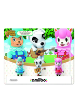 amiibo Animal Crossing Series 3 Pack Bundle