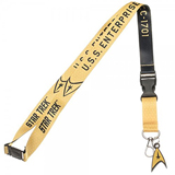 Star Trek Yellow Member Lanyard with Charm