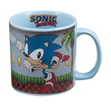 Sonic the Hedgehog Green Zone Heat Change 20oz Mug