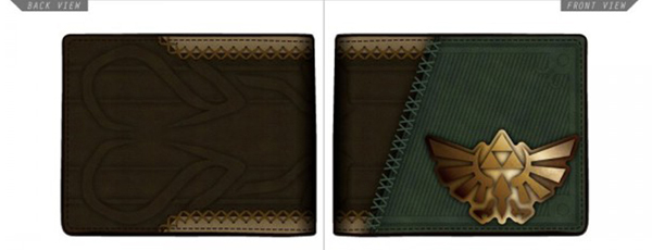 Legend of Zelda Twilight Princess Suit Up Bi-Fold Wallet