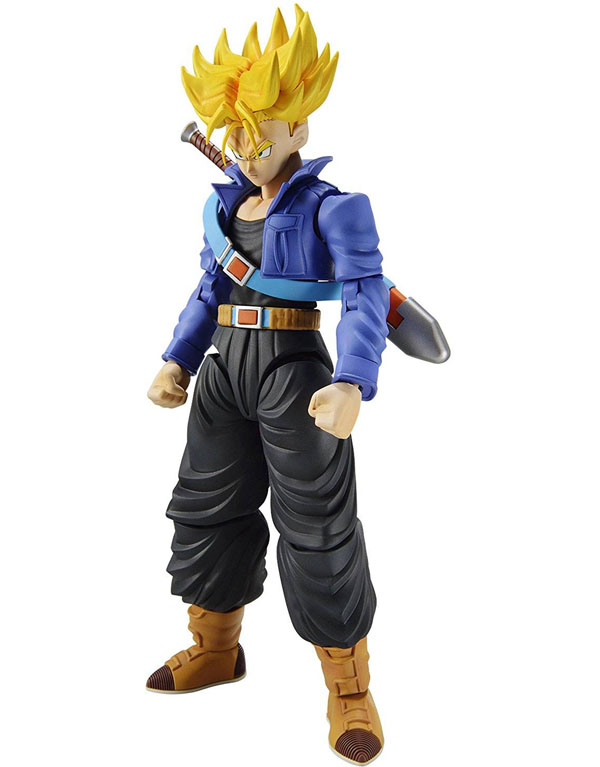 Dragon Ball Z Super Saiyan Trunks Figure-Rise Model Kit