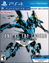 PS4 Zone Of The Enders: 2nd Runner Mars boxart