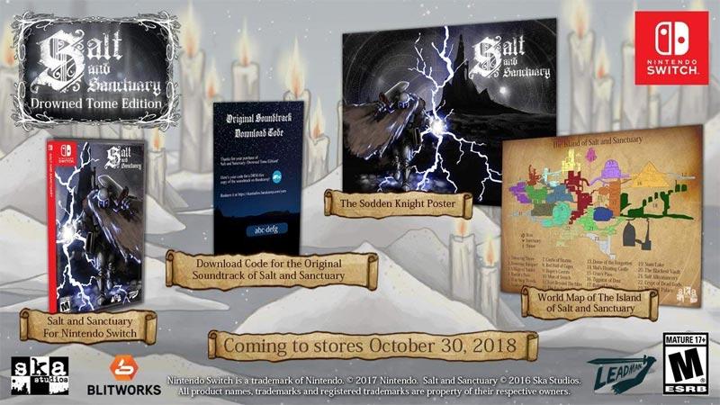 Salt & Sanctuary: Drowned Tome Edition