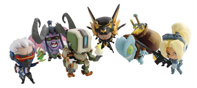 Blizzard Cute But Deadly Series all blind bag figures