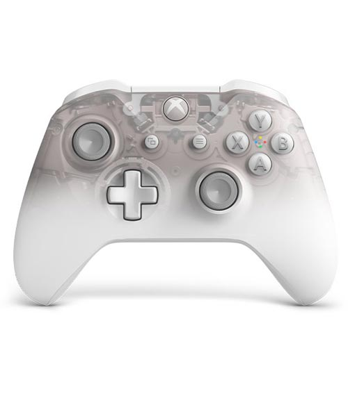 Xbox One S Wireless Controller Phantom White