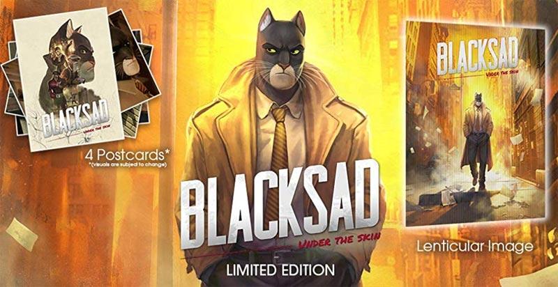 XB1 Blacksad Under the Skin Limited Edition bonus items