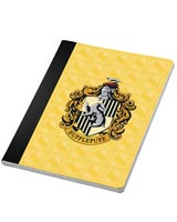Harry Potter Hufflepuff Notebook & Page Clip Set