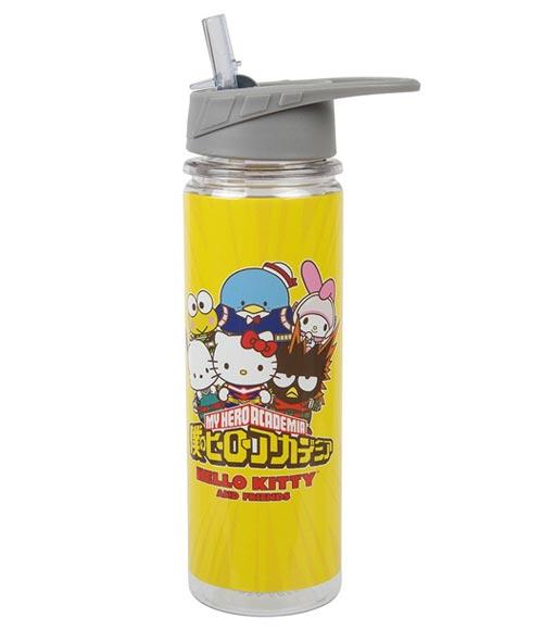 Sanrio x My Hero Academia Yellow 16 oz Tritan Water Bottle