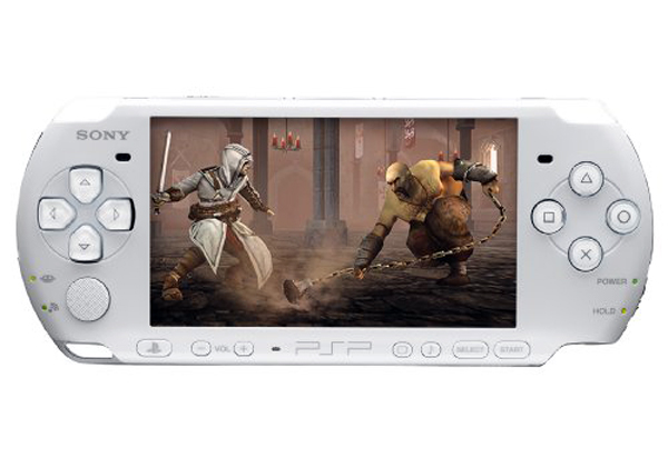 Sony PSP 3000 White - Assassin's Creed Version
