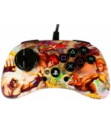 PlayStation 3 Street Fighter X Tekken Fight Pad SD Sagat & Dhalsim vs Hwoarang & Steve