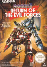 Probotector 2 Return of the Evil Forces