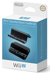 Wii U GamePad Stand and Cradle Set